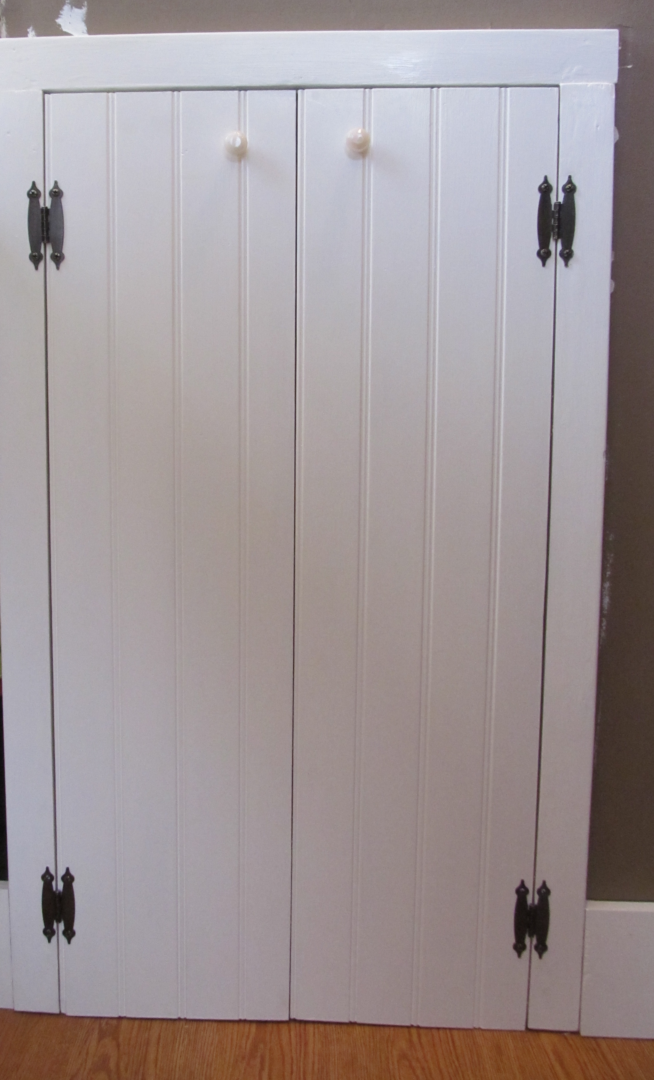 Beadboard Doors White Kitchen Cabinets With Beadboard Doors