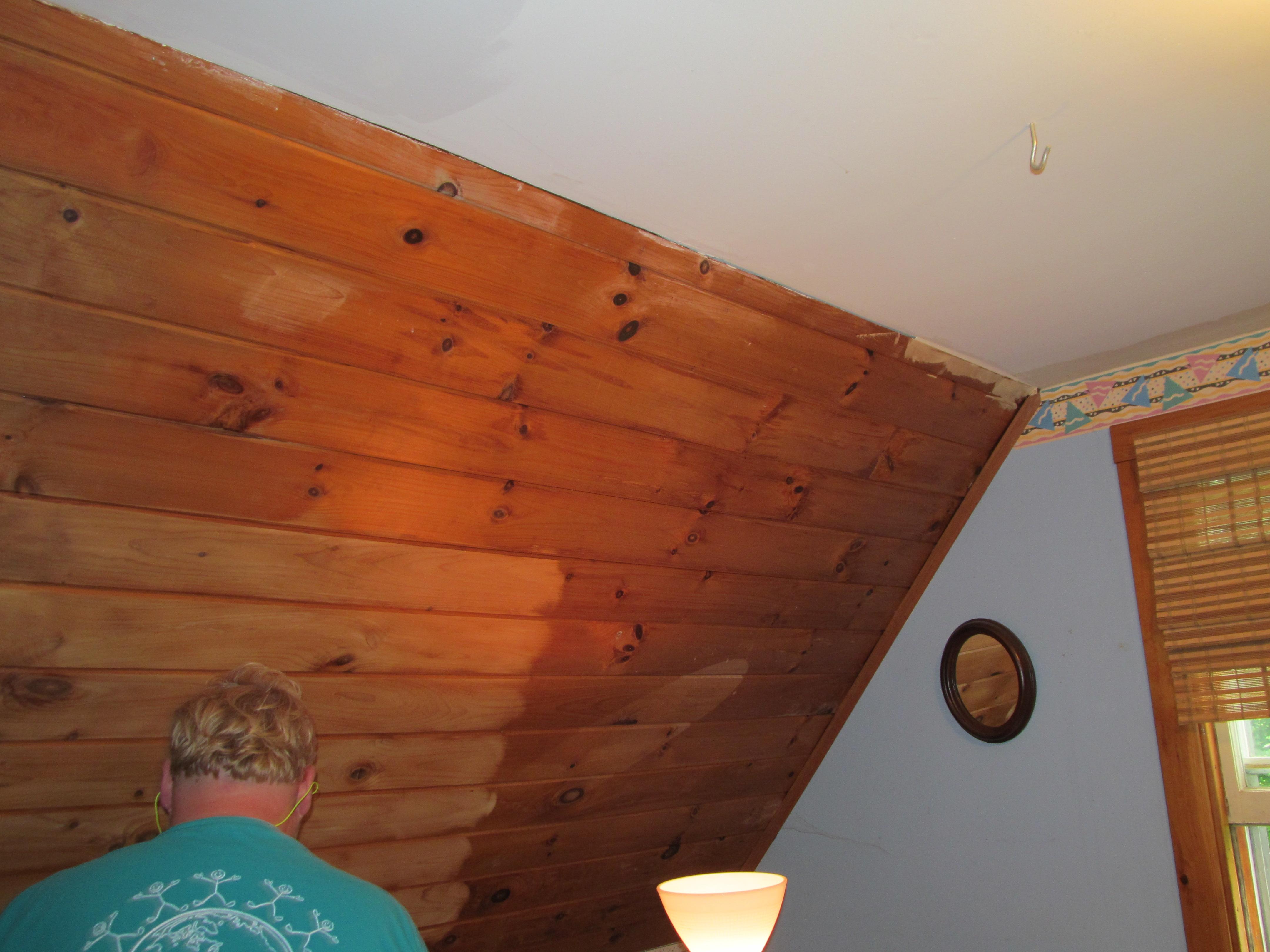 Updating Plank Ceilings Henbogle